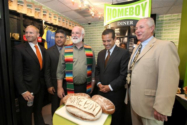 Homeboy Diner Opens at City Hall