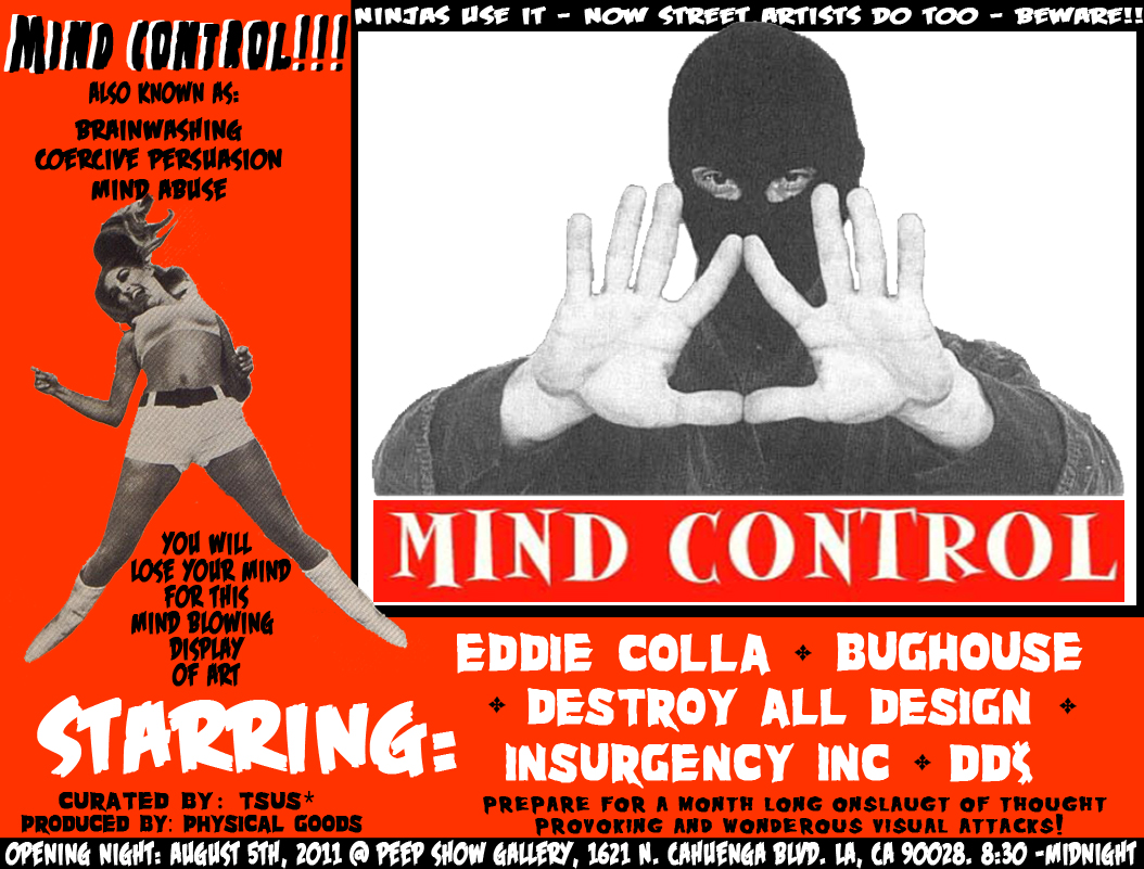 Mind Control, this Friday