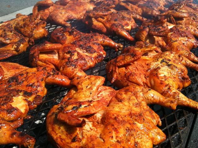 Los Zarape's BBQ Chicken