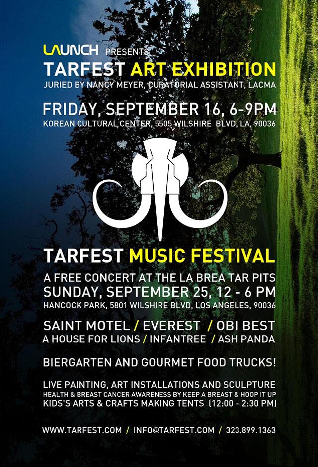 Tarfest Music Festival: This Sunday, Free!