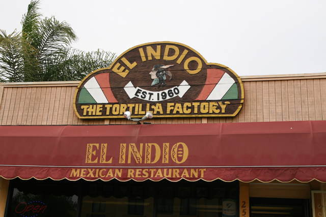 Front of El Indio Redondo Beach