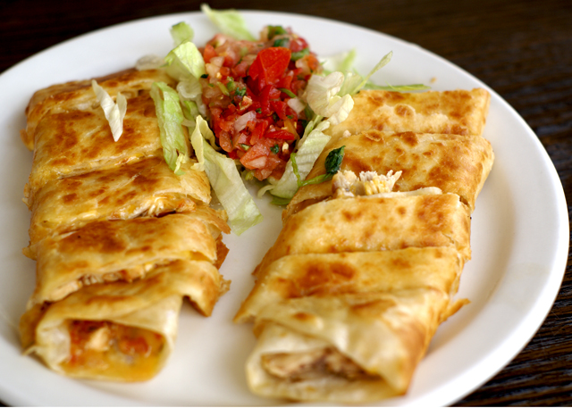 Chicken Quesadilla El Indio Redondo Beach