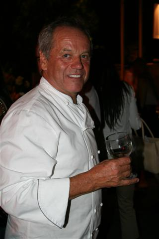 Wolfgang Puck at AWFF 2010. Photo by Elise Thompson.