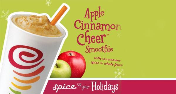 Jamba Juice: APPLE CINNAMON CHEER- Is Here