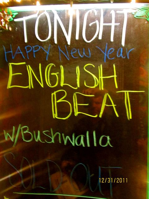 And The English Beat Goes On in Southern California
