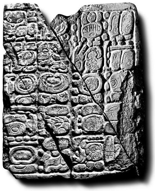 Tortuguero Monument 6, Right Panel