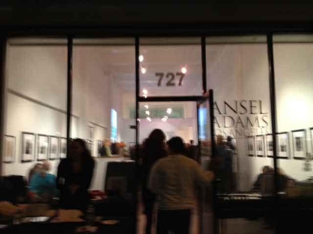 Ansel Adam's Los Angeles @ drkrm gallery