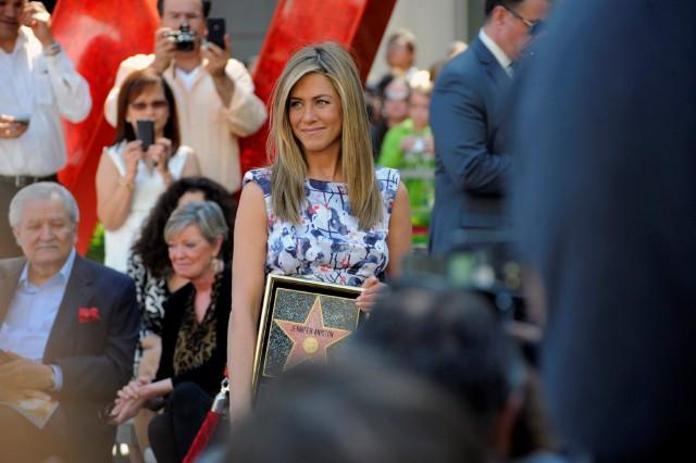 Jennifer Aniston Gets Her Star on the Walk of Fame