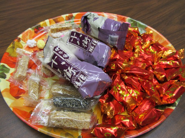 we - Chinese New Year Candy