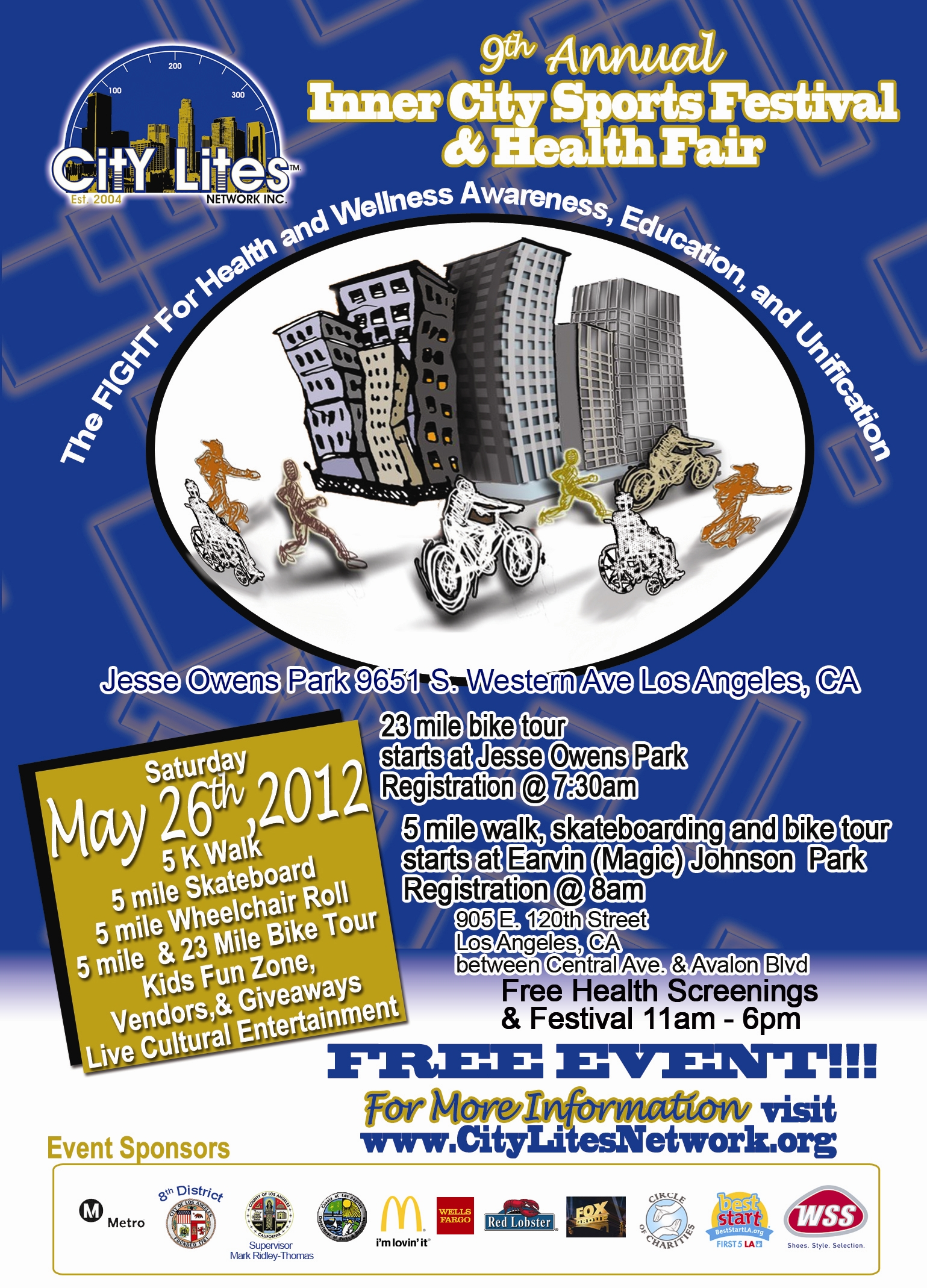 Inner City Sports Festival & Health Fair