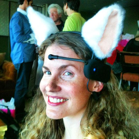 Fun with Necomimi Cat Ears