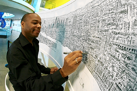 Drawing City Skylines from Memory – Stephen Wiltshire
