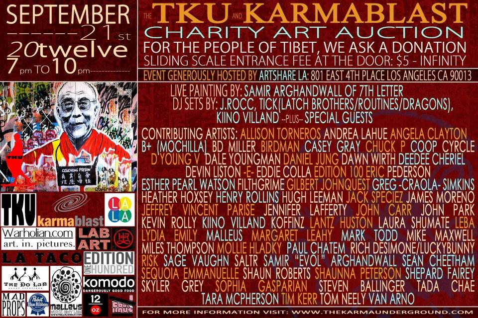 Coming Up: TKU Karmablast September 21, 2012