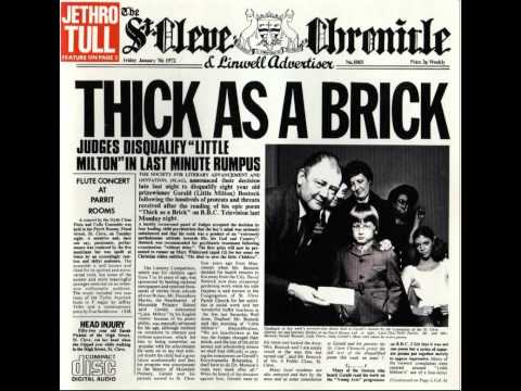 emi announce the 40th anniversary edition of classic album thick as