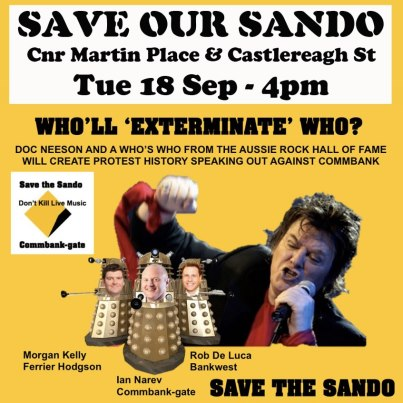 Save the Sando!  Save Live Music!  Part 2