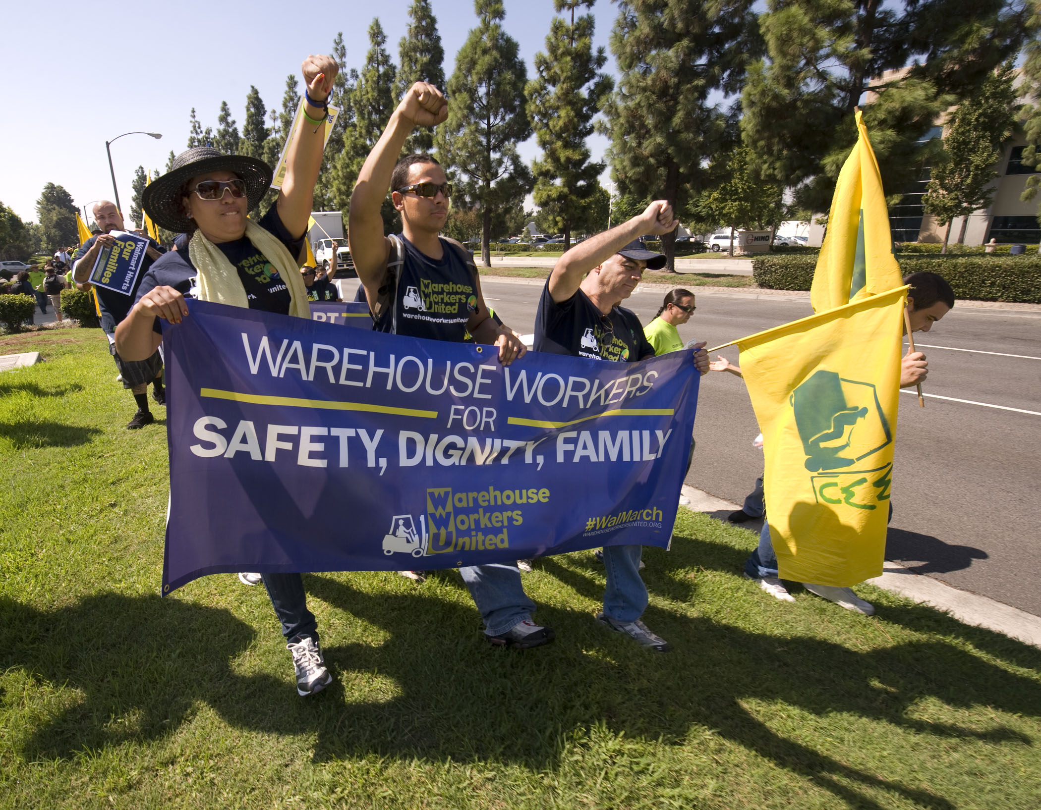 Walmart Warehouse Workers Continue Their March for Safer Work Conditions
