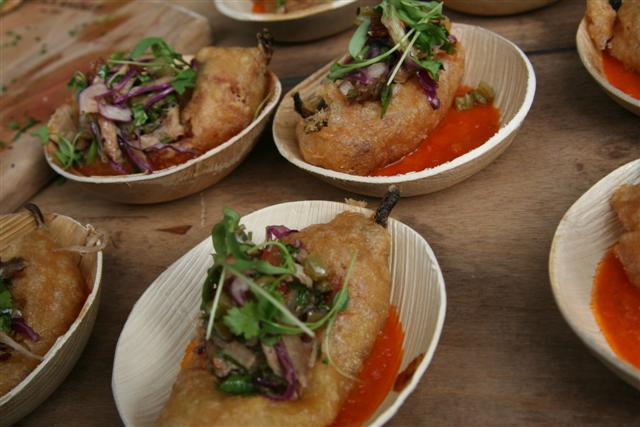 Black Market's delicious chile rellenos