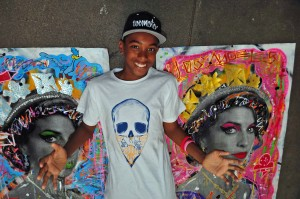 Street Artist and Lab Art Protégé: Skyler Grey