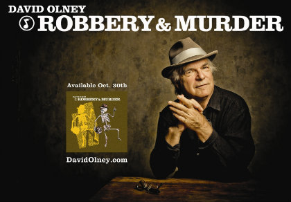 Robbery and Murder: an Interview with David Olney