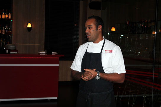 Chef Micah Fields, the Executive Chef at the Standard Hotel, has competed on Bravo's Top Chef and won numerous awards and comendations for his cooking.