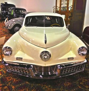 A rare 1948 Tucker (Photo by Nikki Kreuzer)
