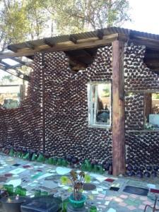 One of Grandma's Bottle Houses (Photo by Nikki Kreuzer)