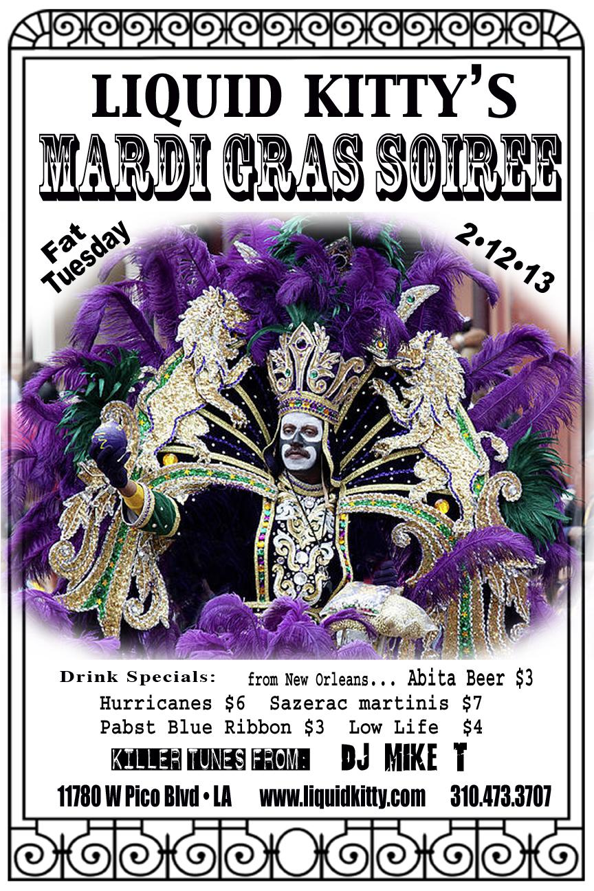 Liquid Kitty's Mardi Gras Soiree