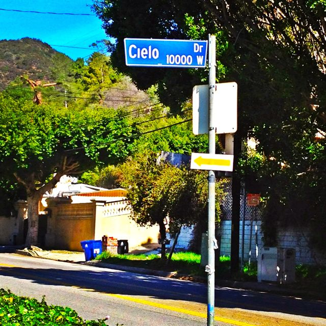 Cielo Drive, Site of the Manson Murders (Photo by Nikki Kreuzer)