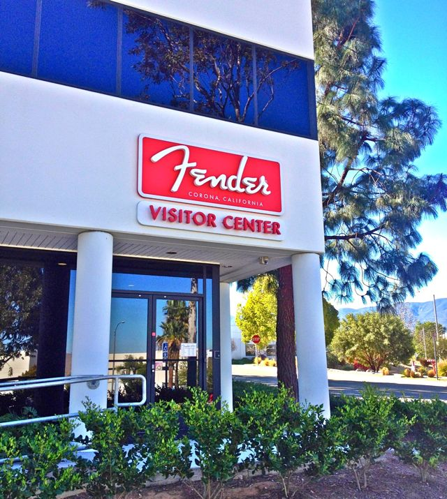 The Fender Factory, Corona, CA (photo by Nikki Kreuzer)