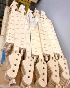Recently Cut Bass Necks (Photo by Nikki Kreuzer)