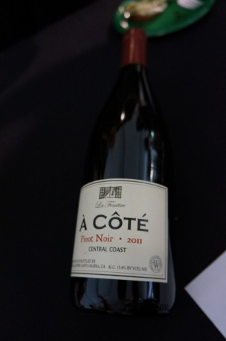 Bob s favorite wine of the day was the la fenetre a cote for La fenetre wine