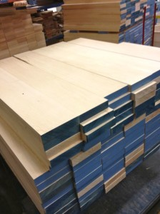 These planks of wood become guitar necks (photo by Nikki Kreuzer)
