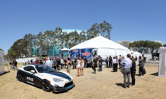 Behind the scenes at the Toyota Grand Prix of Long Beach.