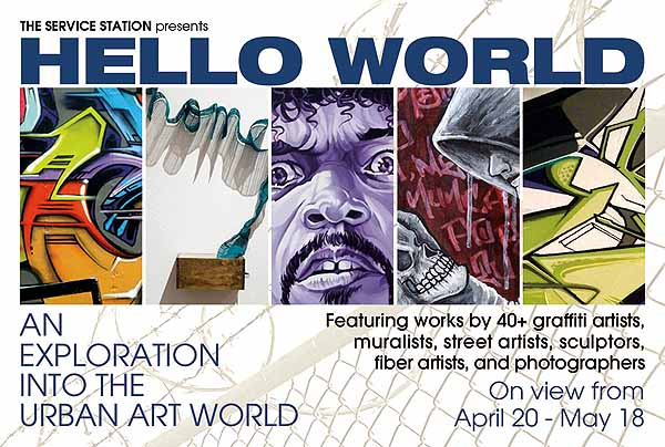 Hello World - Flyer (front) Web