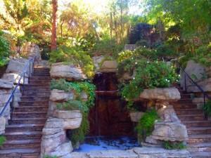 A waterfall in the Rock Garden (Photo by Nikki Kreuzer)
