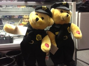 The gift shop at the Police Academy. (Photo by Nikki Kreuzer)