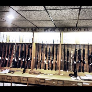 The surreal Police Revolver and Athletic Club Store  (Photo by Nikki Kreuzer)