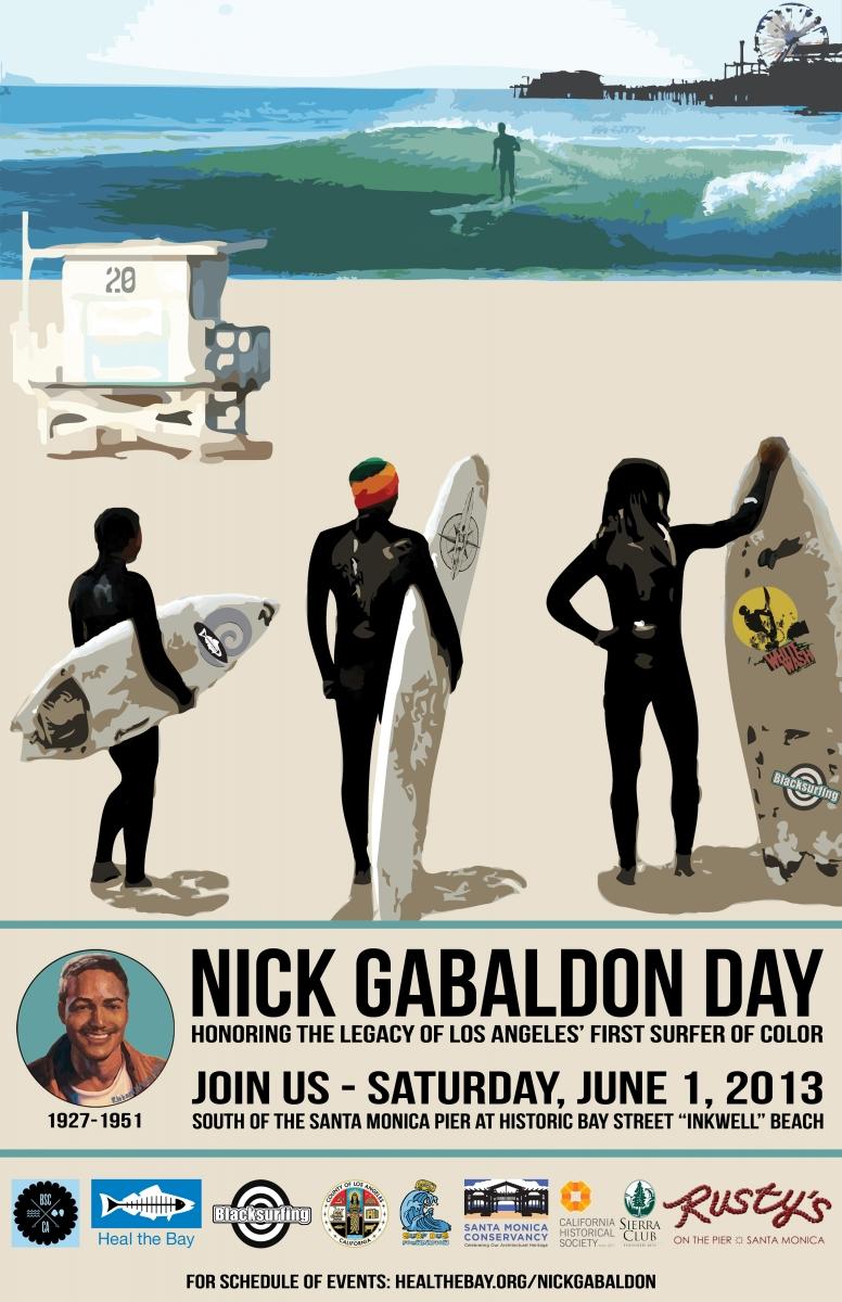 June 1st is Surfer Nick Gabaldon Day in Santa Monica