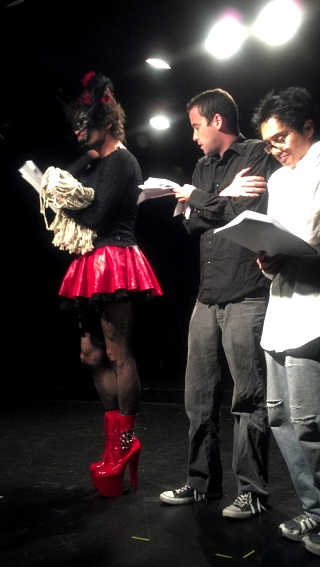 Francois Illas New Tradition: FirstStage Knocks Another Annual Playwright's Express Out