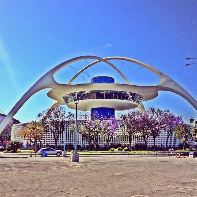The Theme Building at LAX. Welcome to the future that never arrived... (Photo by Nikki Kreuzer)