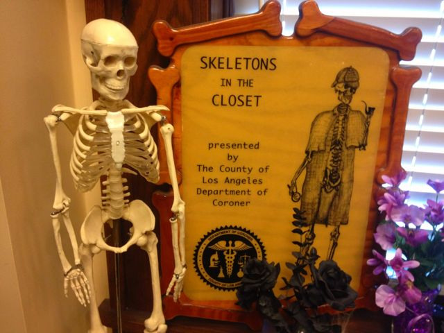 Skeleton's in the Closet (Photo by Nikki Kreuzer)