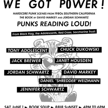 """We Got Power! Hardcore Punk Scenes from 1980s"" at Book Soup"