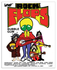 Would you take a piece of bubble gum from this band?