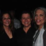 Photograph of Rachael Worby, Tena Clark, Patti Austin