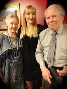 Mark and Nani with the author. (Photo courtesy of Nikki Kreuzer)