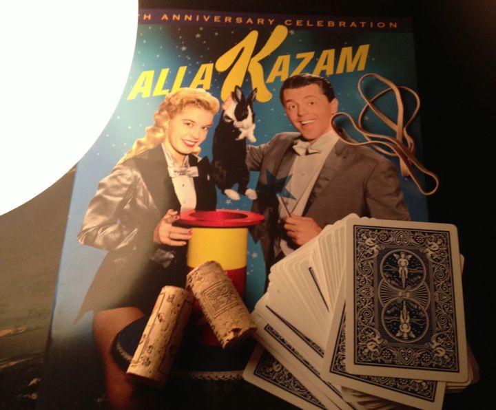 Magic Supplies and a magazine commemorating  Mark & Nani (Photo by Nikki Kreuzer)