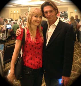 '70's Teen Idol Jimmy McNichol poses with the Author (Photo by Nikki Kreuzer)