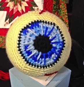 Move over Dali... The OC Fair has a crotched Eyeball Pillow (photo by Nikki Kreuzer)