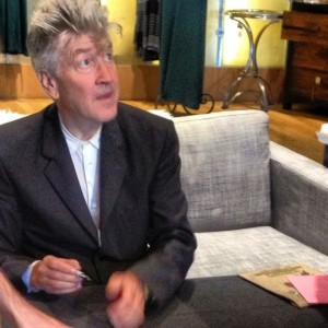 Meeting David Lynch through a caffiene fogged haze (photo by Nikki Kreuzer)
