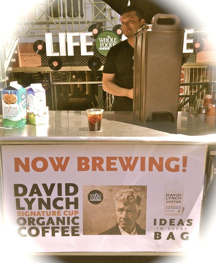 A sample of David Lynch's witches brew (photo by Nikki Kreuzer)